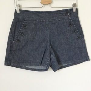 Ann Taylor Sailor Front Shorts